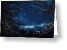 Porthole To The Heavens Greeting Card