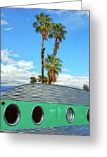 Portholes Palm Springs Greeting Card