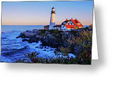 Portland Head Light II Greeting Card