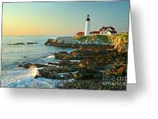 Portland Head Light No. 2  Greeting Card