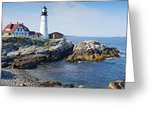 Portland Head Lighthouse Portland Me Greeting Card
