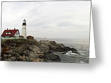 Portland Head Greeting Card