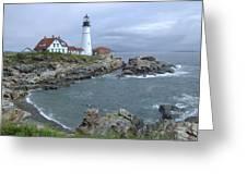 Portland Headlight, Maine Greeting Card
