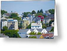 Portland Rooftops Greeting Card