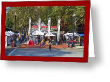 Portland Saturday Market Greeting Card
