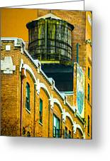 Portland Water Tower II Greeting Card