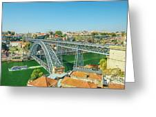 Porto Bridge Skyline Greeting Card