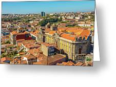 Porto Skyline Portugal Greeting Card