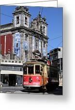 Porto Trolley 1 Greeting Card