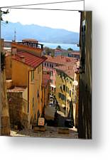 Portoferraio Elba Greeting Card