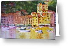 Portofino Afternoon Greeting Card