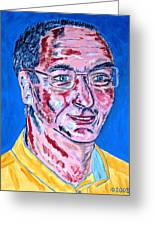Portrait Dr. R. Meiritz Greeting Card
