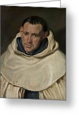 Portrait Of A Carmelite Friar Greeting Card
