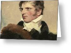 Portrait Of A Gentleman, Sir Thomas Lawrence Greeting Card