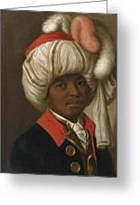 Portrait Of A Man Wearing A Turban Greeting Card