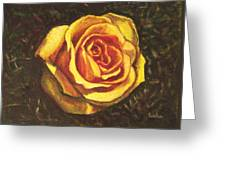 Portrait Of A Rose 5 Greeting Card