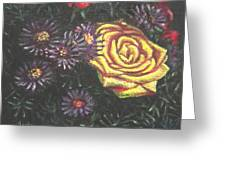 Portrait Of A Rose 7 Greeting Card