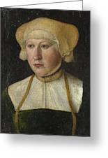 Portrait Of A Woman Greeting Card
