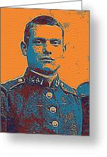Portrait Of A Young  Wwi Soldier Series 12 Greeting Card