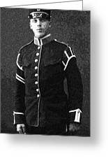 Portrait Of A Young  Wwi Soldier Series 13 Greeting Card