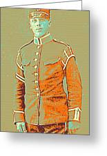 Portrait Of A Young  Wwi Soldier Series 14 Greeting Card
