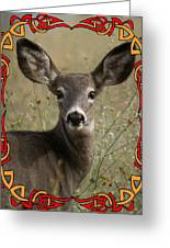 Portrait Of Bambi Greeting Card