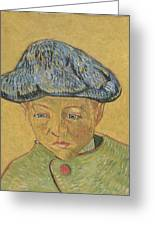 Portrait Of Camille Roulin Greeting Card