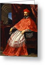 Portrait Of Cardinal Roberto Ubaldini 1625 Greeting Card