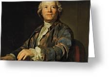 Portrait Of Christoph Willibald Ritter Von Gluck Greeting Card
