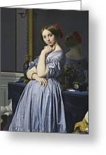 Portrait Of Comtesse D'haussonville Greeting Card