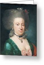 Portrait Of Countess Sparre Greeting Card