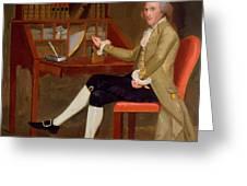 Portrait Of David Baldwin 1790 Greeting Card