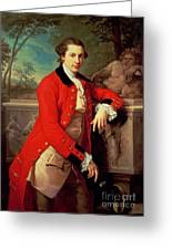 Portrait Of Edmund Rolfe Greeting Card