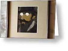 Portrait Of Erik Satie Greeting Card