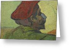 Portrait Of Gauguin Arles December 1888 Vincent Van Gogh 1853  1890 Greeting Card
