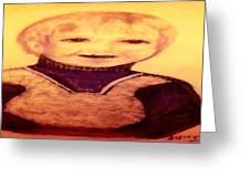Portrait Of Innocence Greeting Card