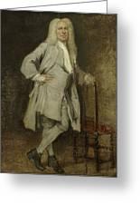 Portrait Of Jan Lepeltak Greeting Card