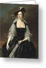 Portrait Of Lady Frances Courtenay Greeting Card