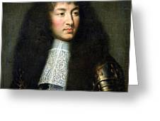 Portrait Of Louis Xiv Greeting Card