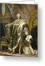 Portrait Of Louis Xv Of France Greeting Card