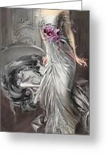 Portrait Of Madame Eugene Doyen Greeting Card