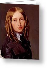 Portrait Of Madame Frederic Reiset 1847 Greeting Card