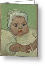 Portrait Of Marcelle Roulin Arles, December 1888 Vincent Van Gogh 1853  1890 Greeting Card