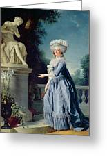 Portrait Of Marie-louise Victoire De France Greeting Card