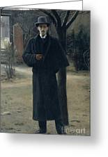 Portrait Of Miquel Utrillo Greeting Card