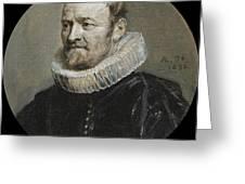 Portrait Of Nicholas Rockox Greeting Card