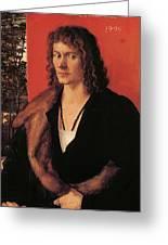 Portrait Of Oswolt Krel 1499 Greeting Card