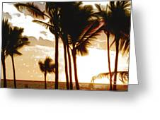 Portrait Of Paradise Greeting Card