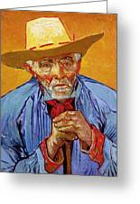 Portrait Of Patience Escalier Greeting Card