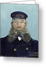Portrait Of Postman Roulin Greeting Card